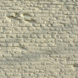Old historical white bricks wall — Stock Photo #12424717