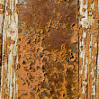 Old painted wooden door background — Stock Photo #12551467