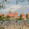 Lithuanian historical  kings castle Trakai — Vidéo