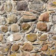 Stock Photo: Old castle stone wall background