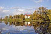 Lithuanian medieval historical castle Birzai — Stock Photo