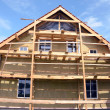 House thermal insulation with mineral rockwool — Foto de stock #14174681