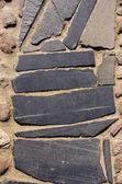 Grunge taş döşeme arka planı — Stok fotoğraf