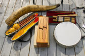 Various original musical instruments — ストック写真