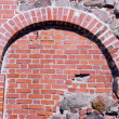 Historical castle bricks and stones wall — Stock Photo