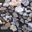 Stock Video: Colorful jewelry stones in fair