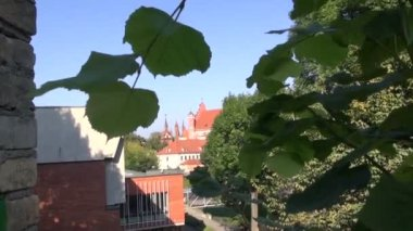 Starý kostel vilnius a st. anne — Stock video