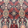 Ancient ornamental carpet background - Stock Photo