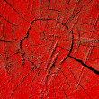 Stock Photo: Red cracked and painted wood background