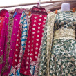 Beautiful womdress in Delhi market, India — Stock Photo #18759343