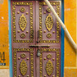 Original and ornate door in Jaipur, India — Stock Photo