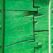 Old green door fragment background - Stock Photo
