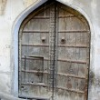 Stock Photo: Historical aged door in Jaipur, India
