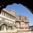 Stock Photo: Mehrangarh Fort in Jodhpur, Rajasthan, India