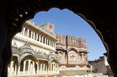 Mehrangarh Fort in Jodhpur, Rajasthan, India — Stock Photo