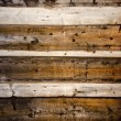 Old wooden farm barn wall background — ストック写真