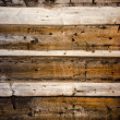 Old wooden farm barn wall background — Stock Photo