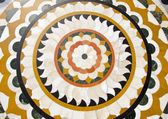 Colorful marble decoration in Amritsar Golden temple — Foto de Stock