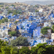 Stock Photo: Blue city Jodhpur in Rajasthan, India