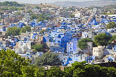 Blue city Jodhpur in Rajasthan, India — Stock Photo
