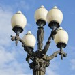 Original ancient city street lamp — Stock Photo
