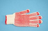 1 つの新しい防護手袋 — ストック写真