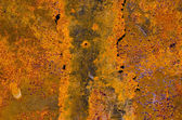 Rusted old and cracked tin background — Stock Photo