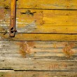 Stock Photo: Old wooden farm barn door background