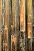 Oude houten boerderij schuur muur achtergrond — Stockfoto