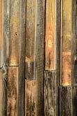 古い木製の農場の納屋の壁背景 — ストック写真