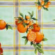 Stock Photo: Old tablecloth background