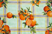 Old tablecloth background — Stock Photo