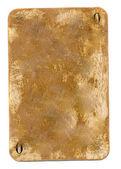 古代肮脏玩卡纸背景与零号 — 图库照片