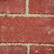 New sidewalk bricks background — Stock Photo