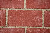 New sidewalk bricks background — Stock Photo