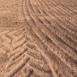 Plowed farm field after rain — Stock Photo #35916627
