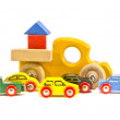 Old retro toy cars isolated on white background — Stock Photo
