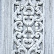 Ancient carved wooden door ornamental background — Stock Photo #47864345