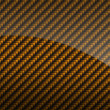Golden glossy carbon fiber background or texture - Lizenzfreies Foto
