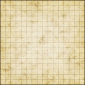 Empty map template on old paper — Stock Photo