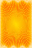 Abstract sunburst background or texture in warm colors — Stock Photo
