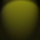 A realistic green carbon fiber weave background or texture — Stock Photo