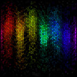 Abstract multicolor disco lights mosaic background — Foto Stock