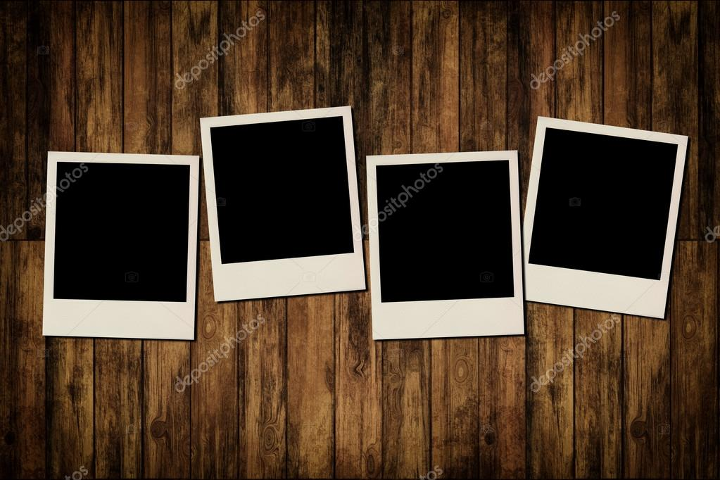Old Wooden Picture Frames Photo Frames on Old Wooden