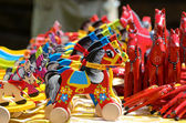 Traditional Wooden Horses — ストック写真