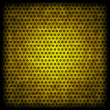 Stock Photo: Yellow grunge background of circle pattern texture