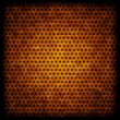 Brown grunge background of circle pattern texture — Stock Photo