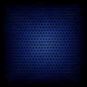 Blue circle pattern texture or background — Stock Photo