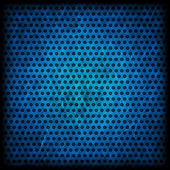 Blue grunge background of circle pattern texture — Stock Photo