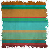 Vector Colorful abstract retro pattern made from stripes — Stock Vector